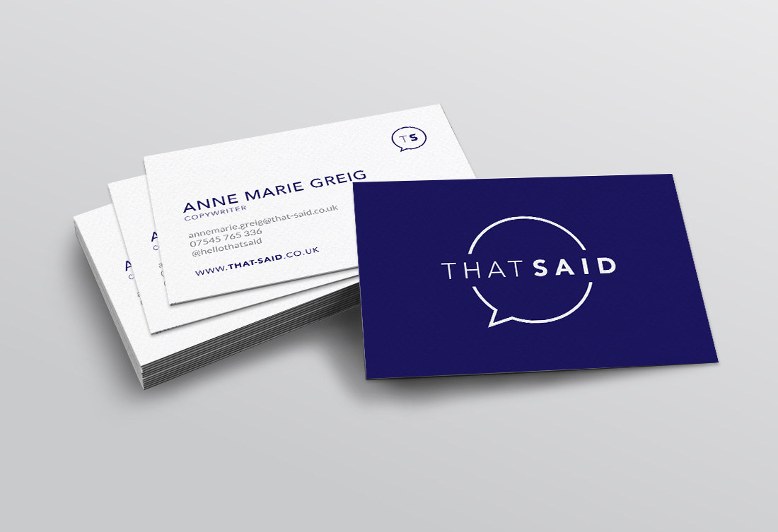 ThatSaid-BusinessCards