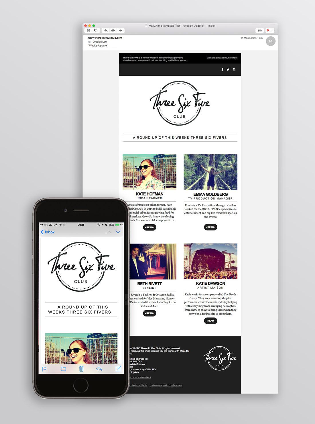 TinyBeastDesign-ThreeSixFiveClub-ENewsletter