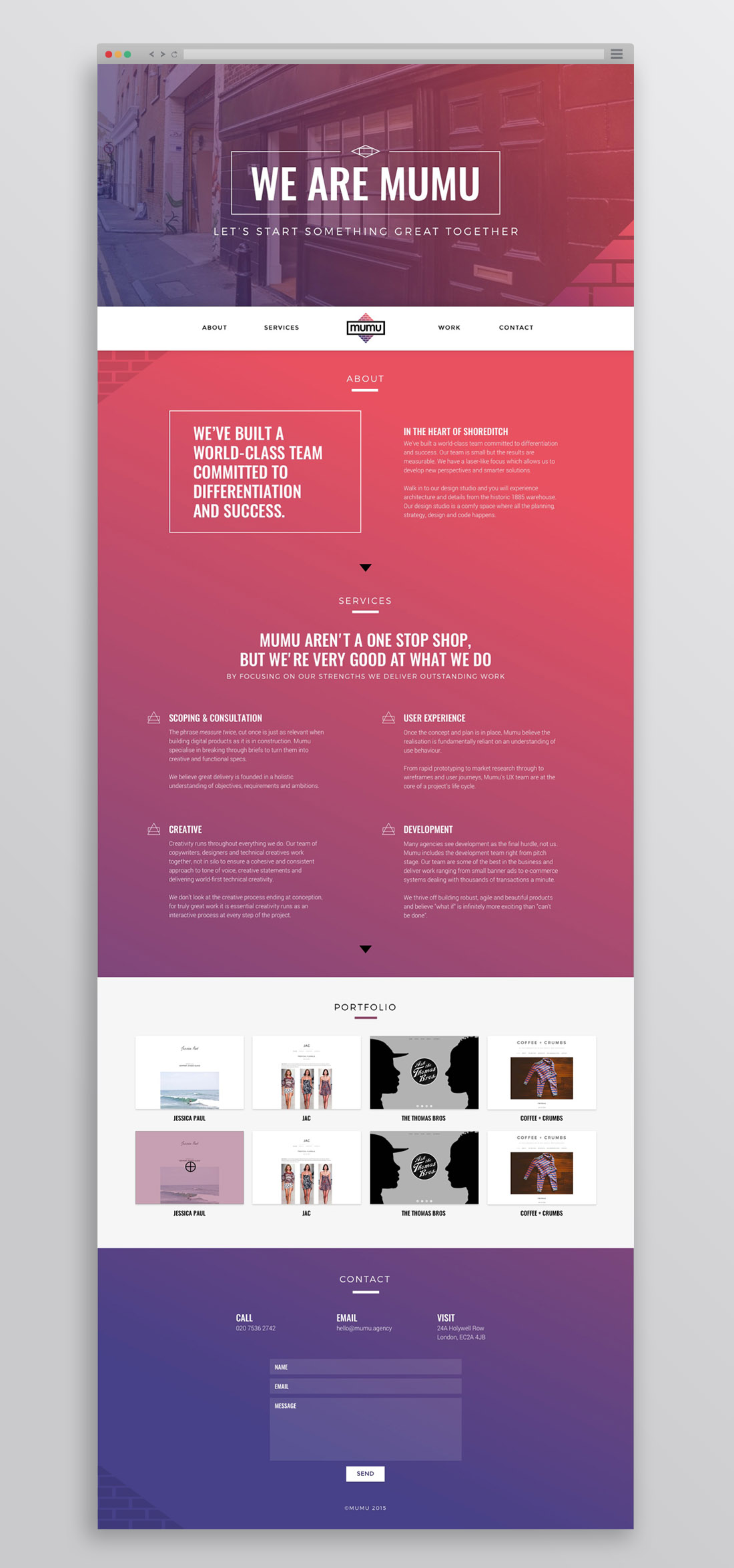 Mumu-Website